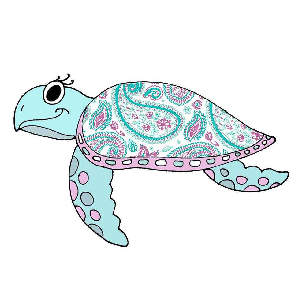 Sea Turtle - Paisley