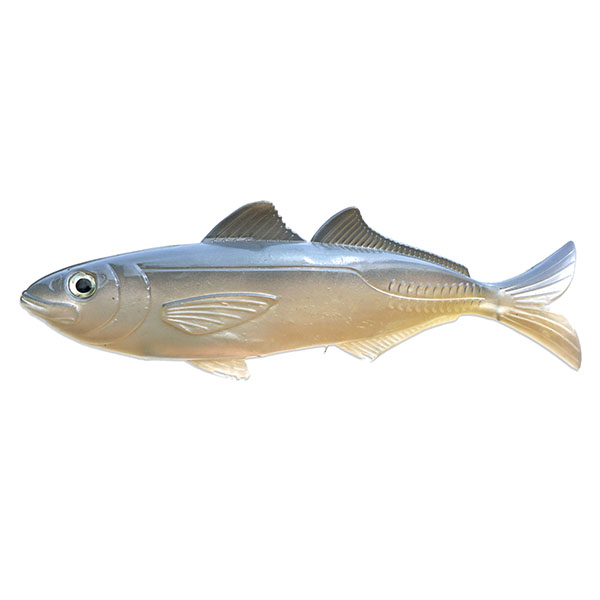 "Artificial Cigar Minnow 8"" Natural 2 Pack - Almost Alive Lures"