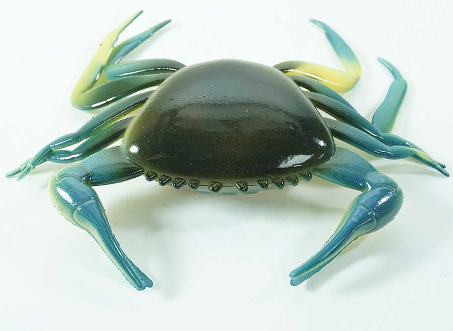 "4"" Crab - Blue and Green 5 pack"