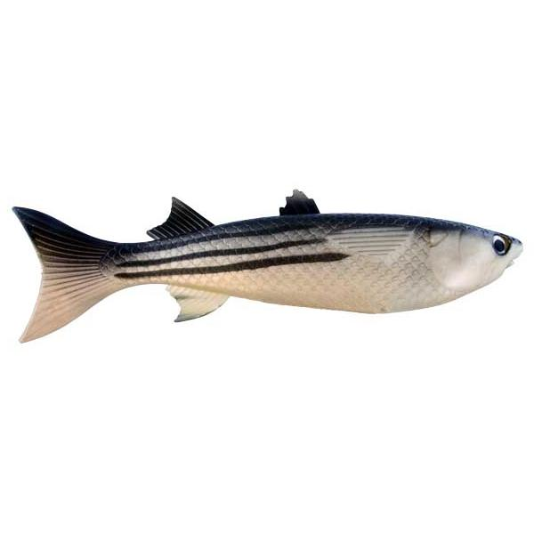 Artificial Striped Mullet 12 Inch - Almost Alive Lures