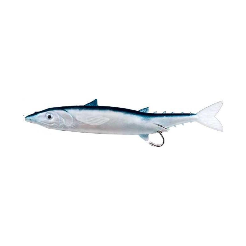 "Almost Alive Lures 7.1"" Soft Plastic Mackerel Swim Bait Rigged"