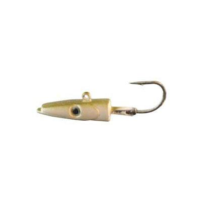 Almost Alive Sand Eel Lead Jig Head Lure With Hook 16 Gram .6 Oz