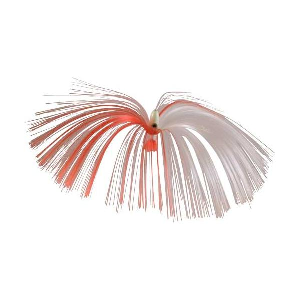 Witch Lure, Glow Bullet Head, 23g, With 7 Inch Red, White Hair