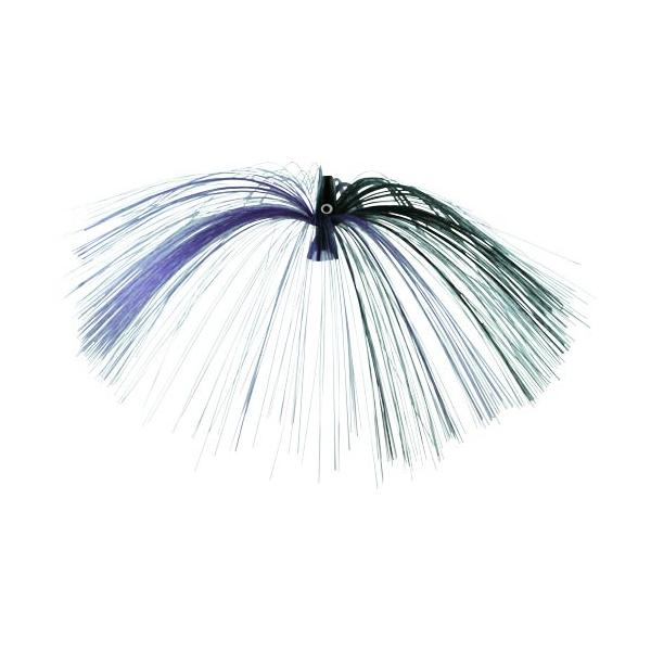 Witch Lure, Black Bullet Head, 23g, With 7 Inch Purple, Black Ha
