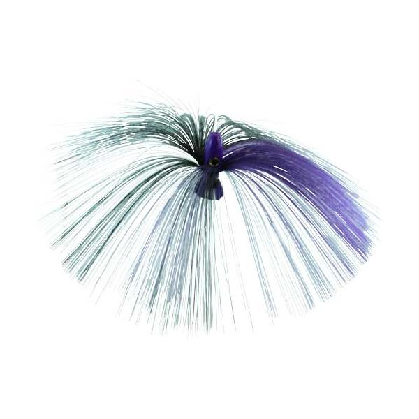 Witch Lure, Purple Bullet Head, 60g, With 7 Inch Purple, Black H