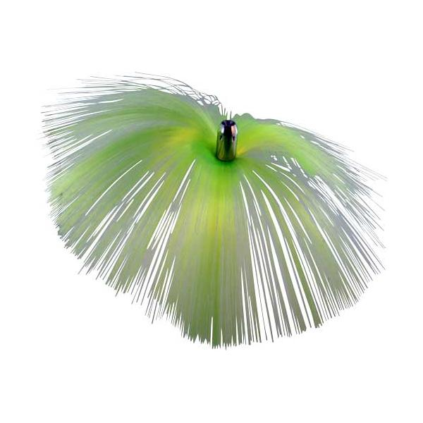 Witch Lure, Chrome Jet Head, 62g, With 6-1⁄2 Inch Chartreu