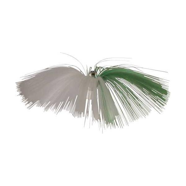 Witch Lure, Chrome Jet Head, 62g, With 6-1⁄2 Inch Green, W