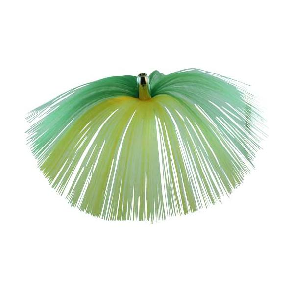 Witch Lure, Chrome Jet Head, 62g, With 6-1⁄2 Inch Green, Y