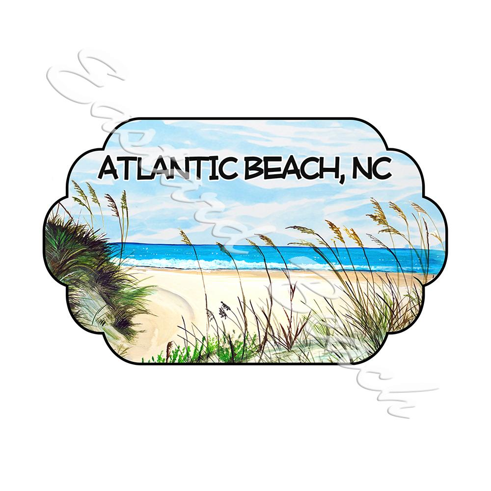 Atlantic Beach - Beach Scene