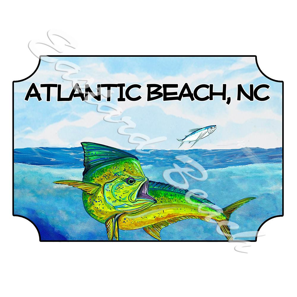 Atlantic Beach Mahi-Mahi Scene