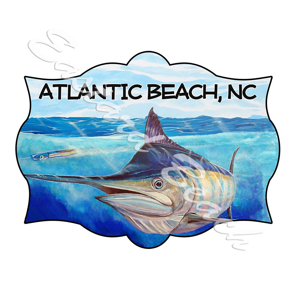 Atlantic Beach - Marlin Scene