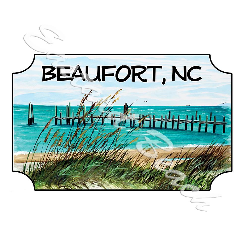 Beaufort - Lookout Dock Scene