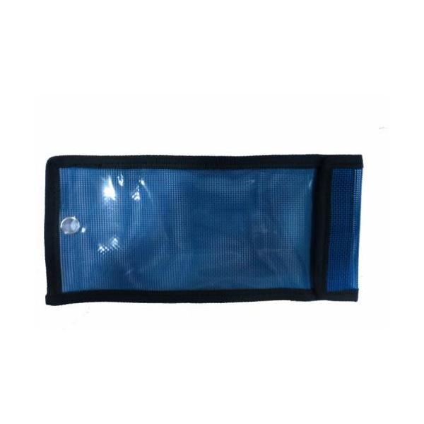 Bama Rig Lure Bag, Blue Mesh 10 In. X 4-3/4 In.