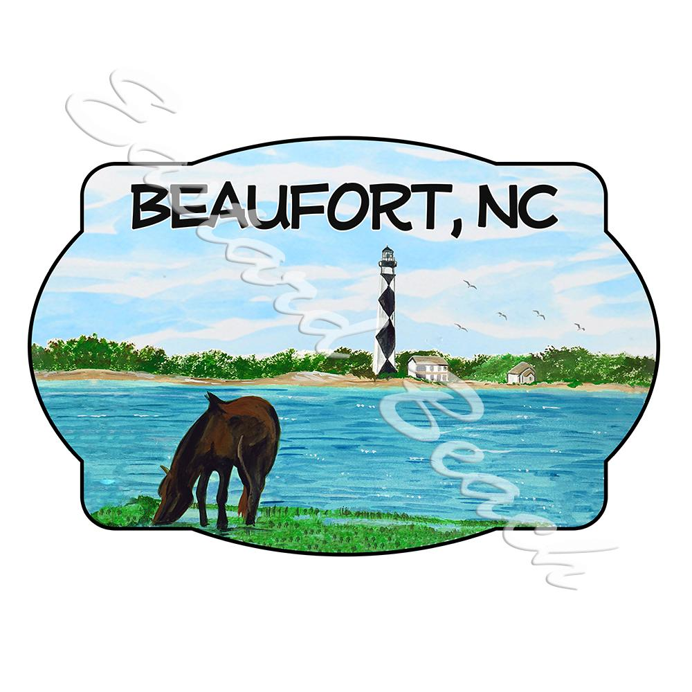 Beaufort - Cape Lookout Scene