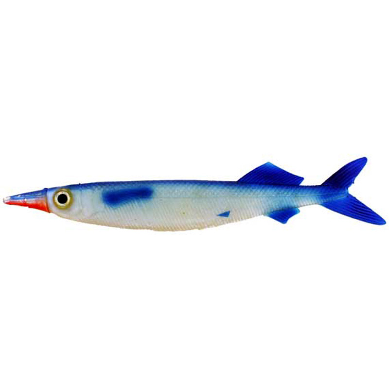 Ballyhoo Blue/red Trolling Lure  9.5 Inch
