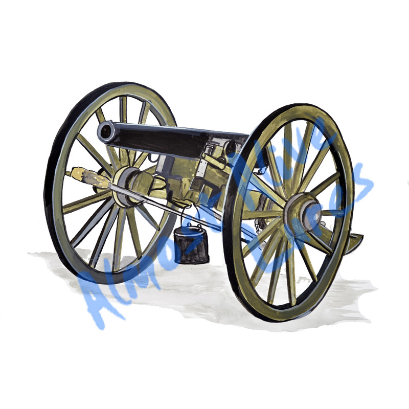 Cannon - Printed Vinyl Decal