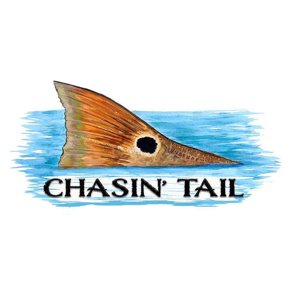 """Chasin' Tail"" - Redfish Tail"