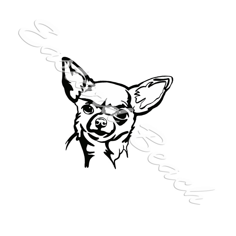 Chihuahua Outline