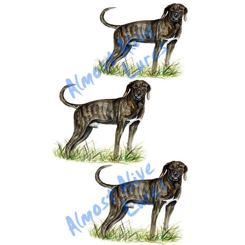 Dog Broad Side - Printed Vinyl Decal