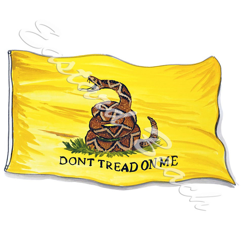 Gadsden Flag- Don't Tread On Me