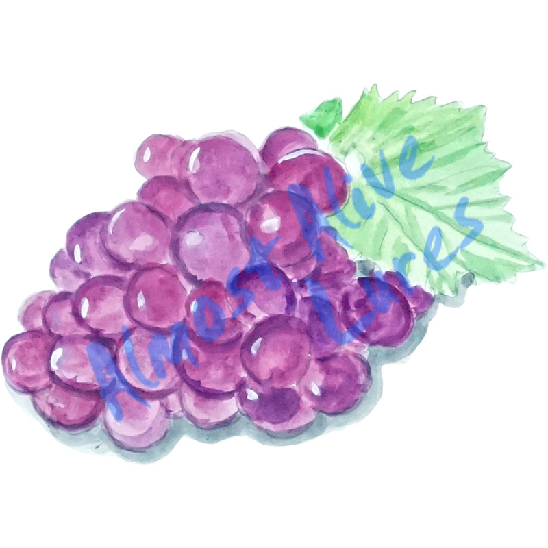 Grapes - Printed Vinyl Decal