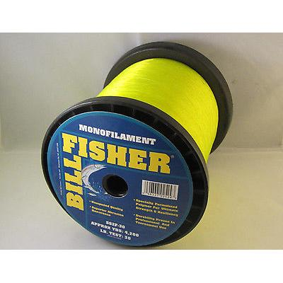 Billfisher Ss2f-30 Mono 2lb 30lb 4200yds Fl Yellow