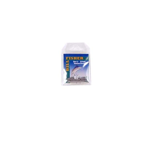 Billfisher 1.2al-25 Aluminum Single Sleeve 80-100lb 25pk