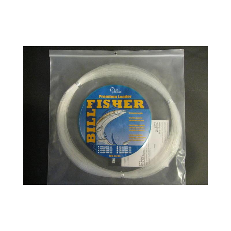 Billfisher 100lb 100yds Clear 1.00mm Lc100-100 Mono Leader
