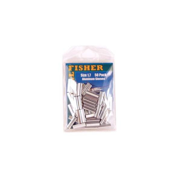 Billfisher 1.7al-50 Aluminum Single Sleeve 200lb 50pk