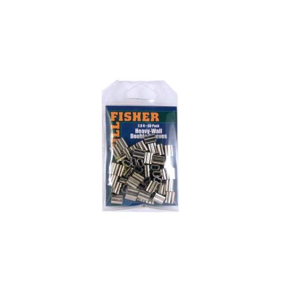 Billfisher 2.8n-50 Dbl Sleeve Nic Hvy Wall 50pk