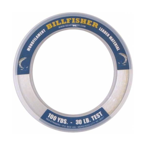 Billfisher Lb30100 Leader Bracelet 30lb 100yds Clear Mono