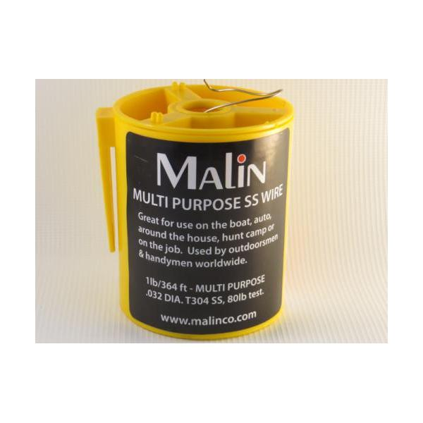 Malin Sw-032 Ss Safety Wire Multi-purpose .032 1lb Can 364ft