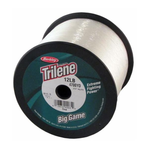 Berkley Bg112-15 Trilene Big Game Mono 12lb 4700yd Clear