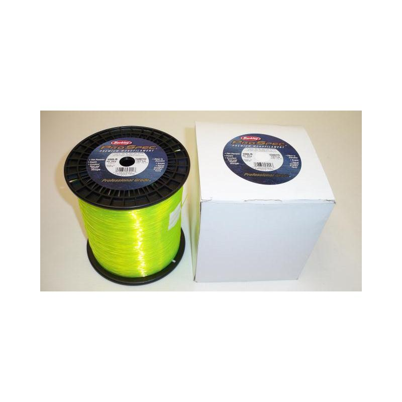 Fishing Line, Berkley Pro Spec 100lb Test, 1500yds, Fluorescent