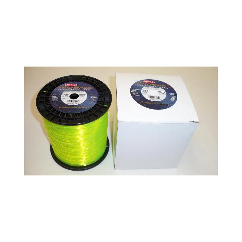 Fishing Line Berkley Pro Spec 130lb Test 1000yds Fluorscent Yell