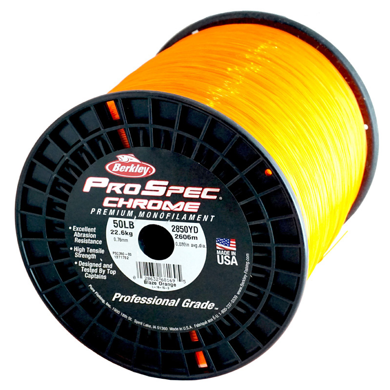 Berkley ProSpec Chrome Monofilament Fishing Line 50Lb 2850Yds PS