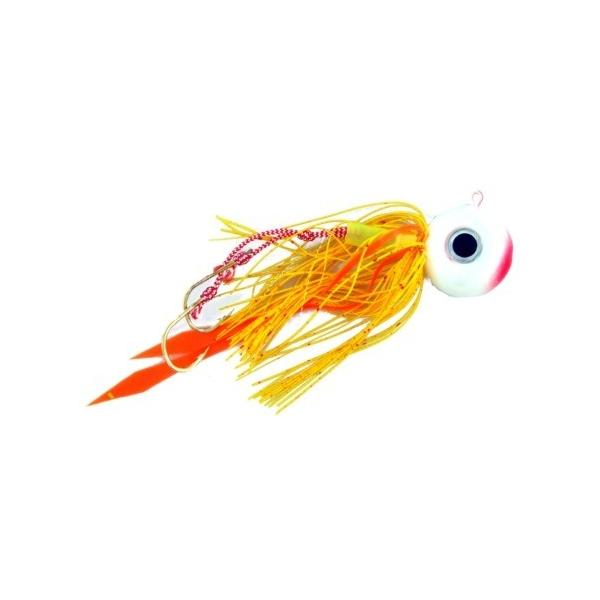 Vertical Jig with Assist Hook Red/White 0.6 ounce - Almost Alive