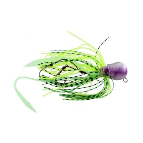 Vertical Jig Octopus Purple/Silver 1.4 ounce - Almost Alive Lure