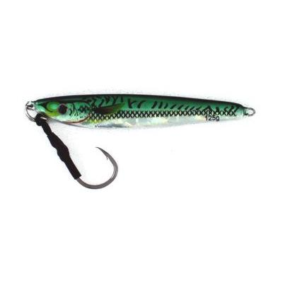Vertical Jig Regulus Green/Silver 4.4 ounce - Almost Alive Lures