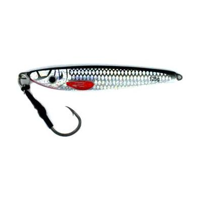 Vertical Jig Regulus Black/Silver 4.4 ounce - Almost Alive Lures