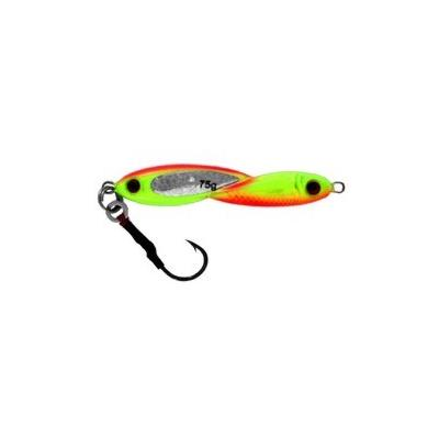 Vertical Jig Okul Orange/Chartreuse 2.7 ounce - Almost Alive Lur
