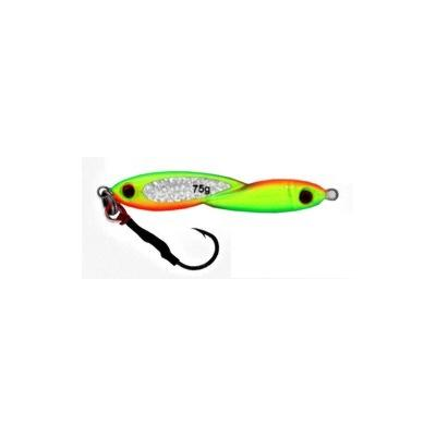 Vertical Jig Okul Chartreuse/Orange/Flash 2.7 ounce - Almost Ali