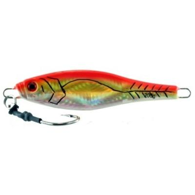 Vertical Jig Tabit Orange/Flash 7 ounce - Almost Alive Lures