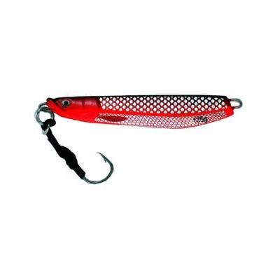 Vertical Jig Sarin Black/Red/Flash 4.4 ounce - Almost Alive Lure