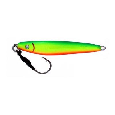 Vertical Jig Nunki Green/Chartreuse/Orange 5.3 ounce - Almost Al