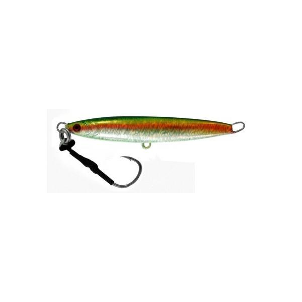 Vertical Jig Arm Green/Gold/Flash 7 ounce - Almost Alive Lures