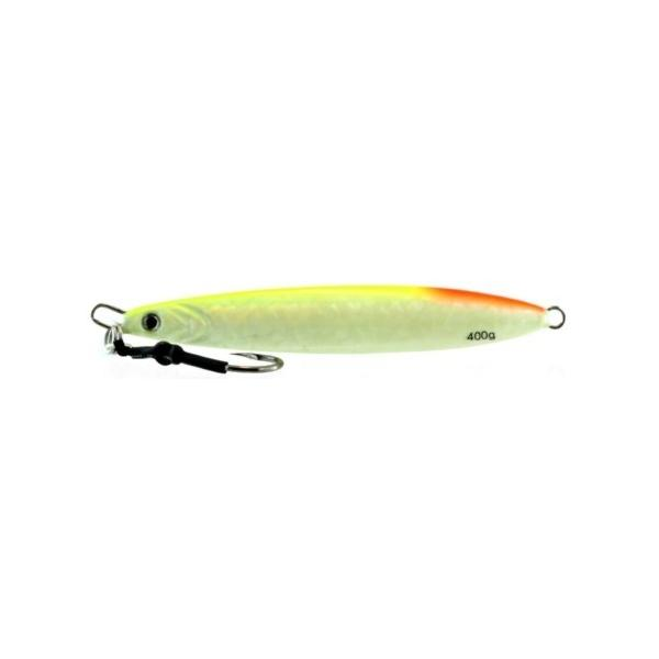 Vertical Jig Arm Glow/Flash 14 ounce - Almost Alive Lures