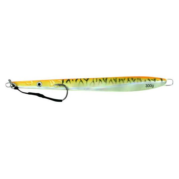Vertical Jig Cursa Orange/Black Striped Flash 10.5 ounce - Almos