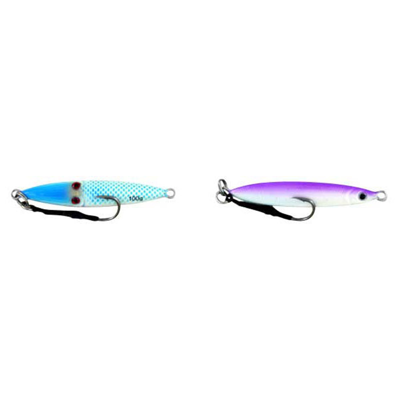 Vertical Jig Sinistra Blue/Purple 3.5 ounce - Almost Alive Lures
