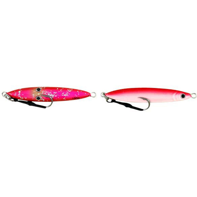 Vertical Jig Sinistra Hot Pink/White 5.25 ounce - Almost Alive L